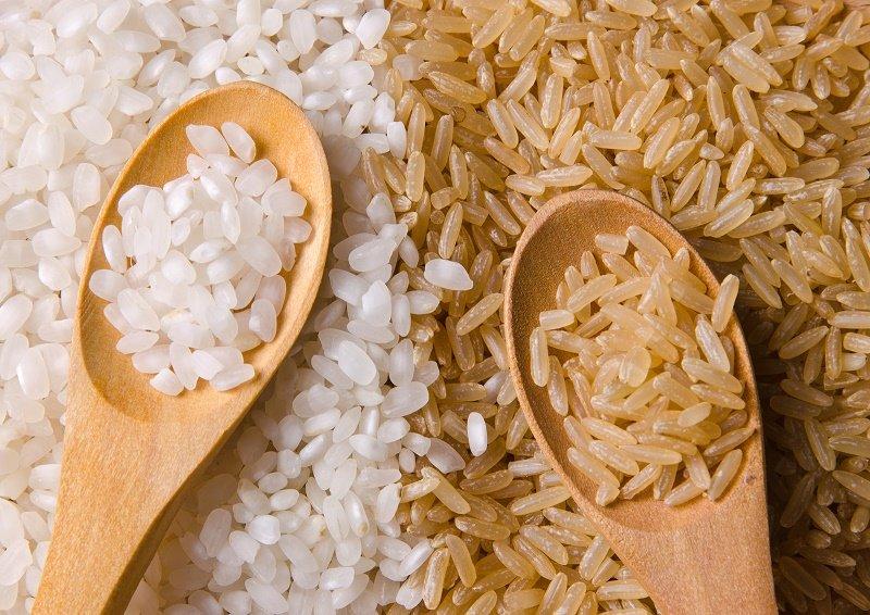 какой рис полезнее белый или коричневый
