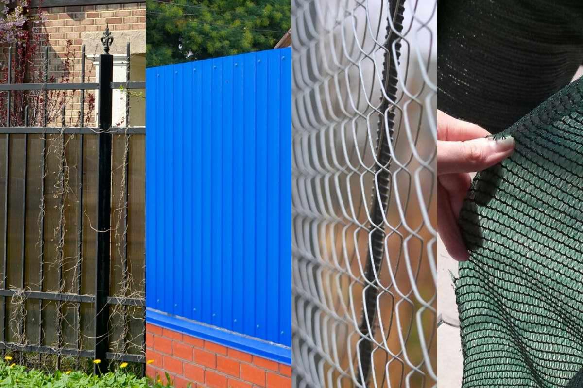 Какой сделать забор, чтобы дешево, просто и надежно