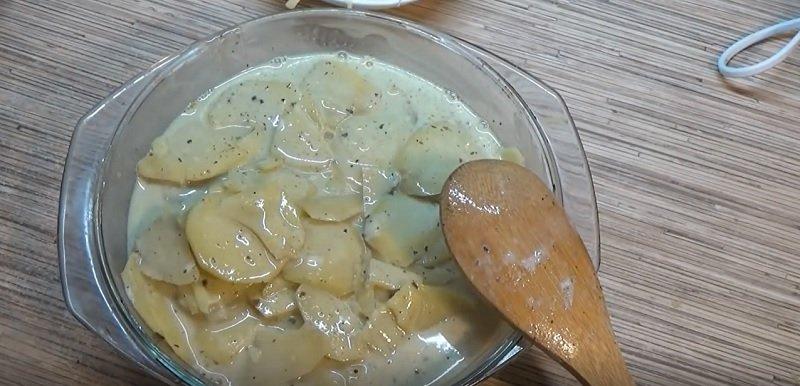 картофель Дофинуа