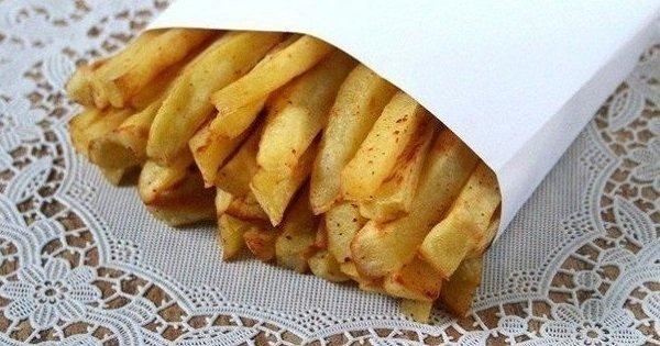 Аппетитный картофель фри без капли масла. Хрусти с удовольствием!