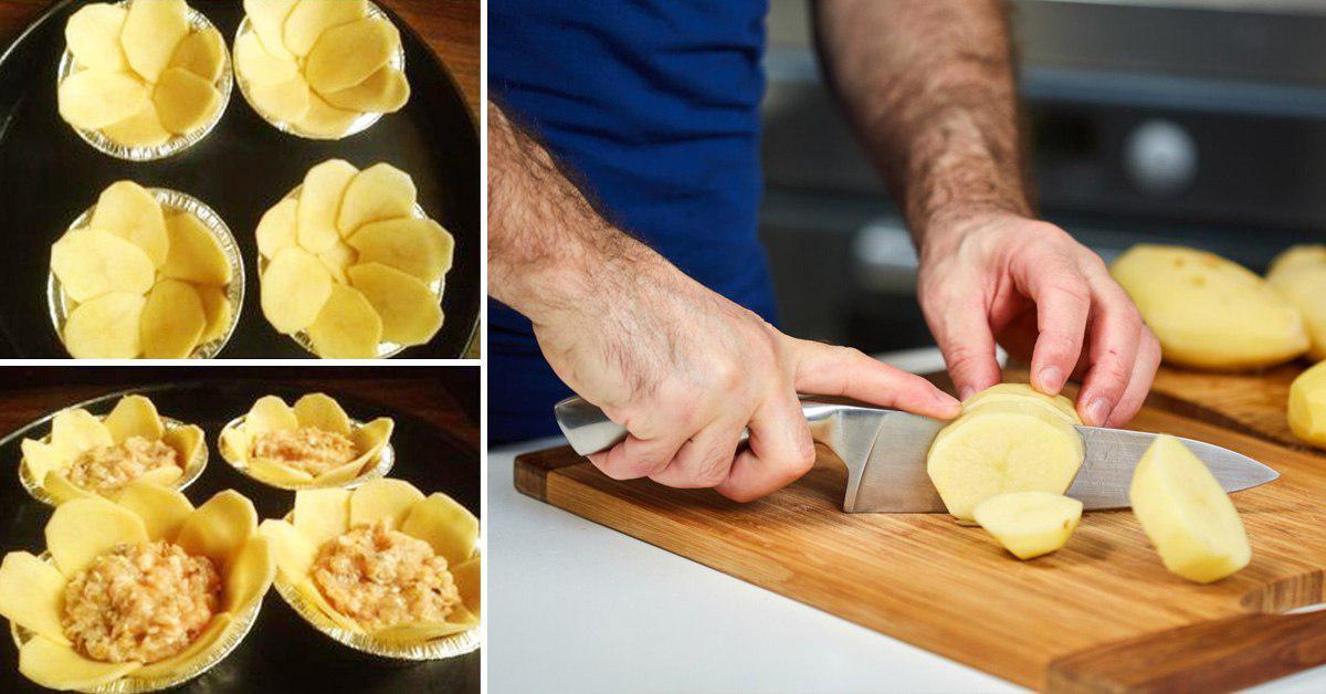 Как сделать закуску из картофеля в духовке thumbnail