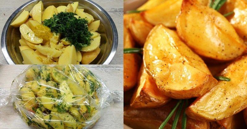 Картофель в рукаве по-новому: праздник на столе, без преувеличения!