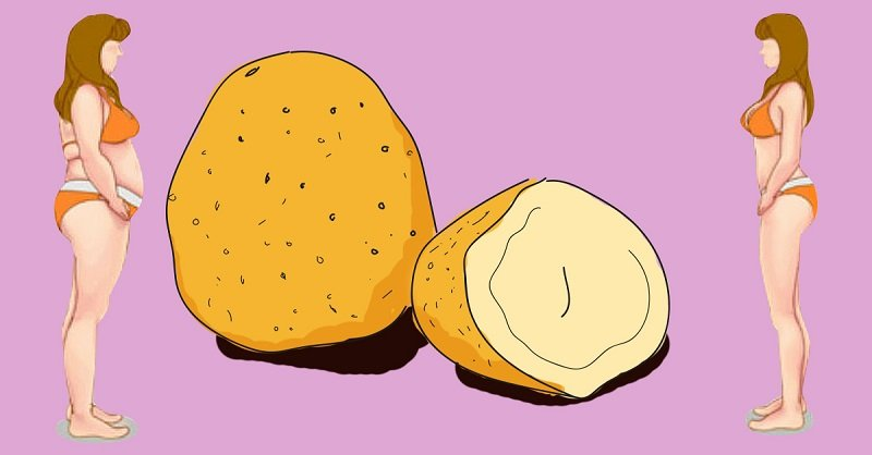 картофельная диета меню