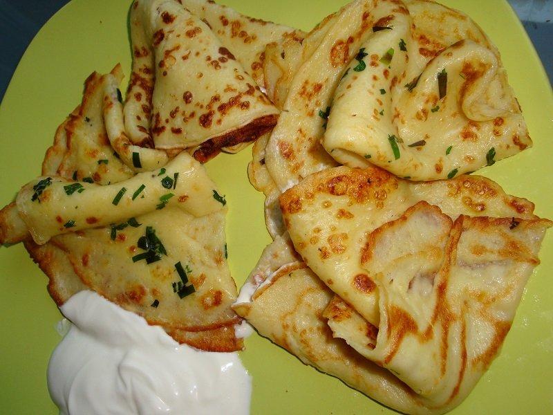тонкие картофельные блины рецепт