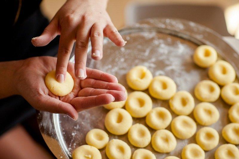 картофельные клецки на гарнир