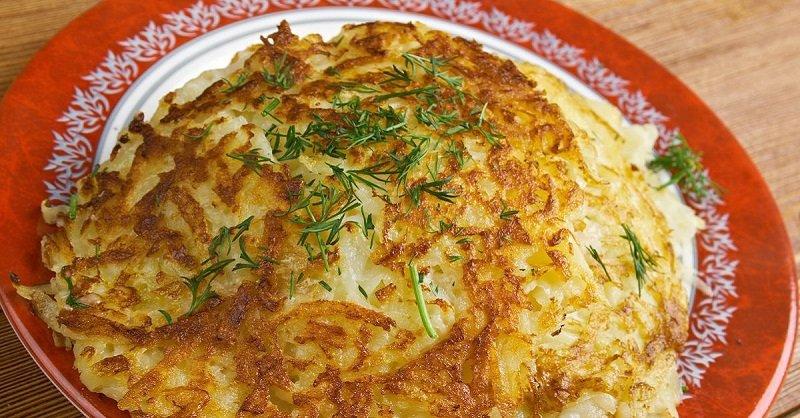 Готовлю картофельные лепешки как блины: разлетаются за три минуты