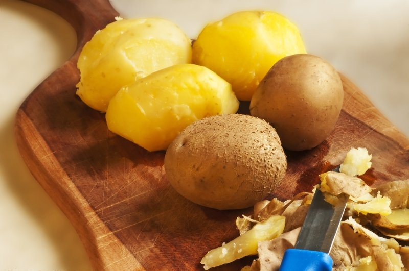 картофельные очистки в народной медицине