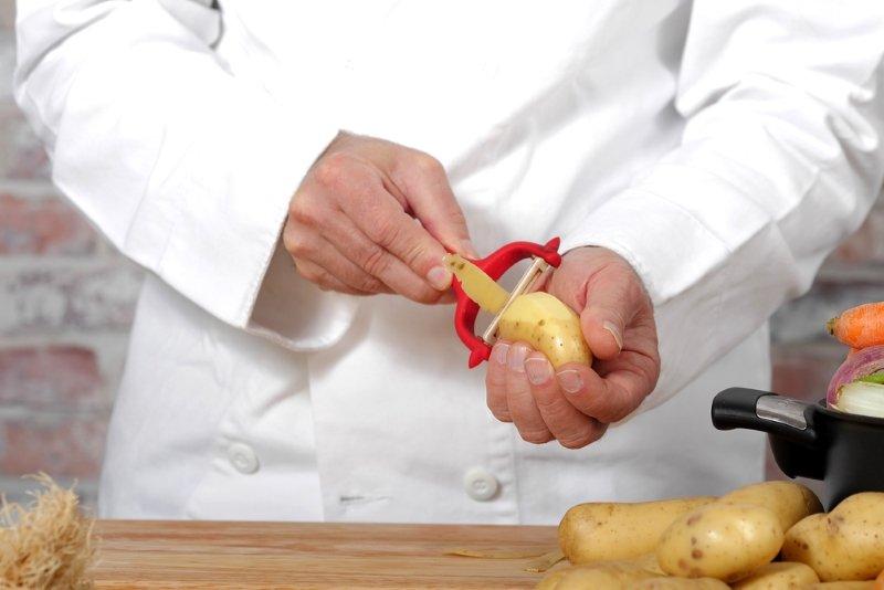 картофельные очистки рецепт