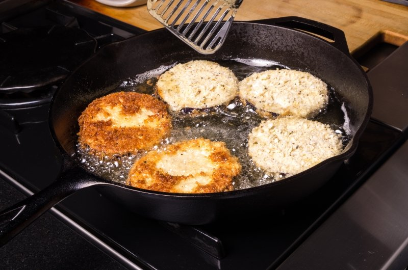 картофельные зразы с жареным луком
