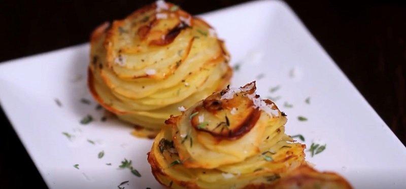 картофель с пармезаном и тмином