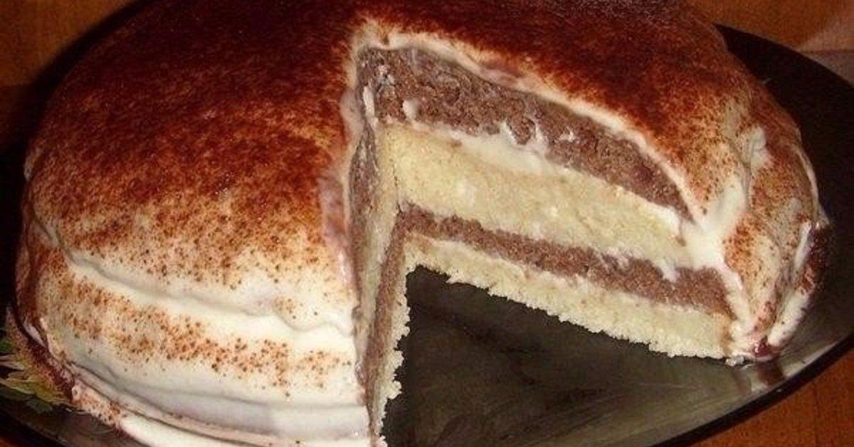 Домашний торт — лакомство, желанное в любое время года.