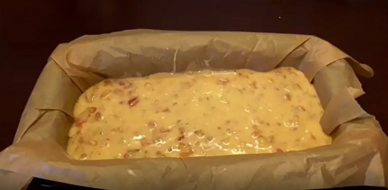 кекс с сухофруктами