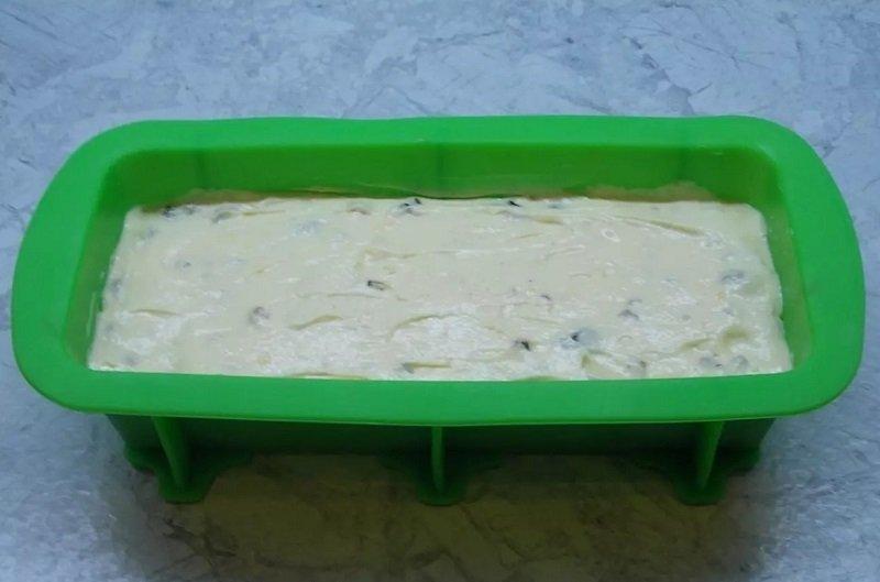 кекс мазурка с сухофруктами