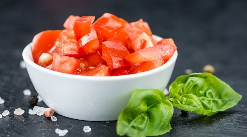 аппетитные помидоры