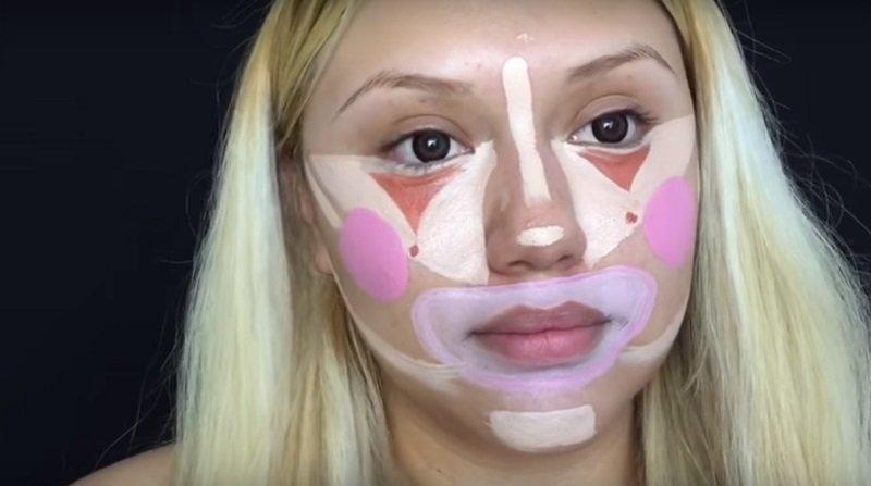 макияж контуринг фото