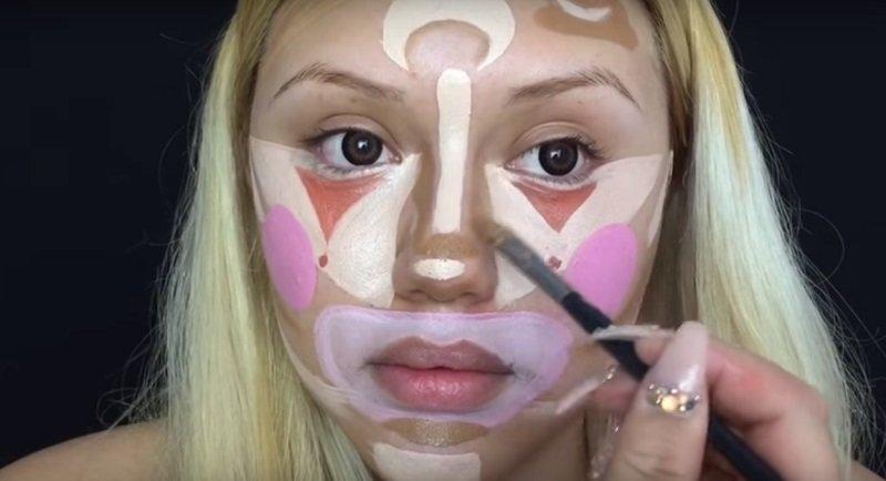 как делать контурирование лица