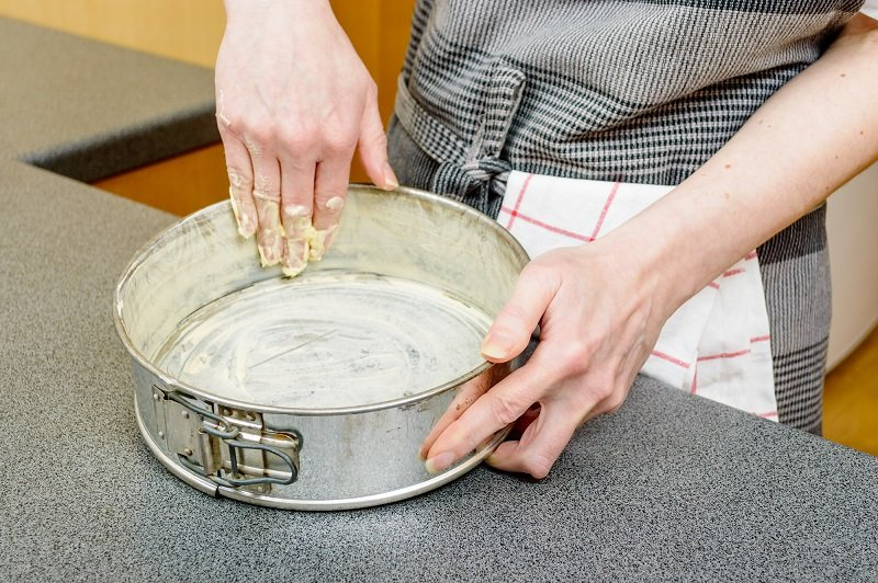 пирог с клубникой в желе