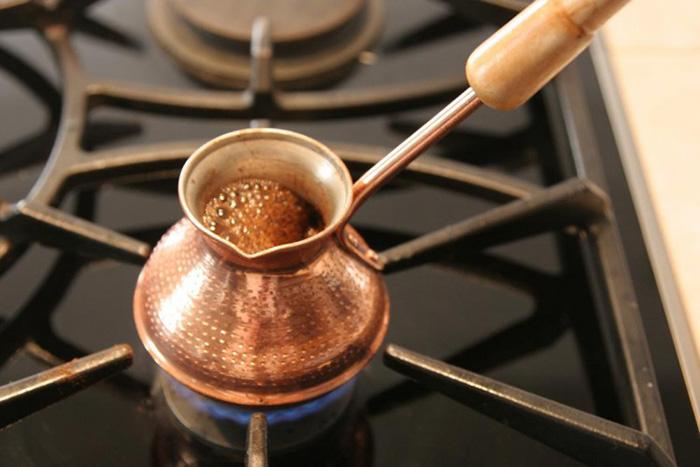 кофе по-турецки дома