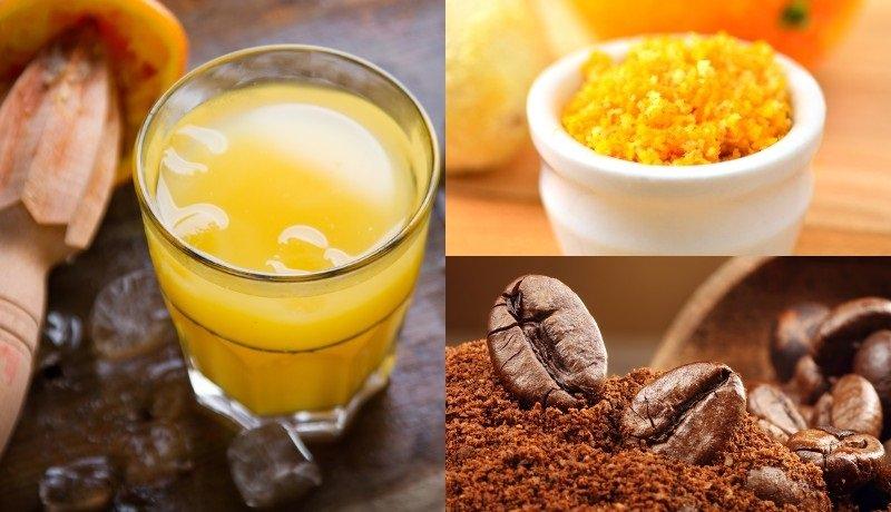 кофе с апельсином и сливками