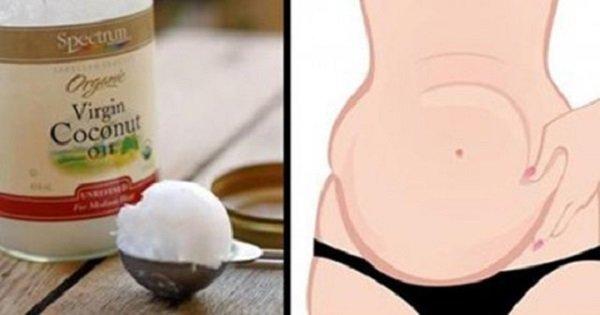 Кокосовое масло: я не знаю более простого способа похудеть и избавиться от «спасательного круга» на животе.