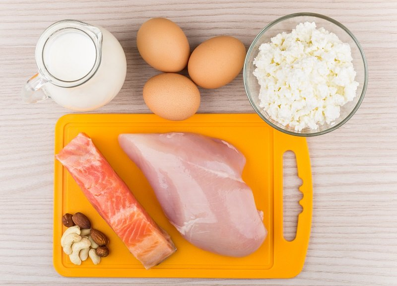продукты для набора веса