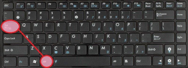 использование горячих клавиш