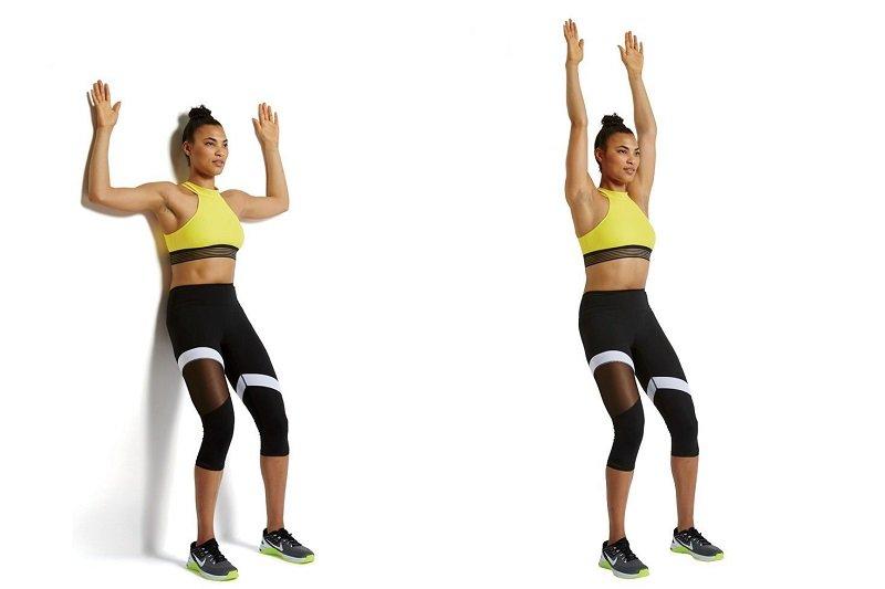 упражнения для женщин видео
