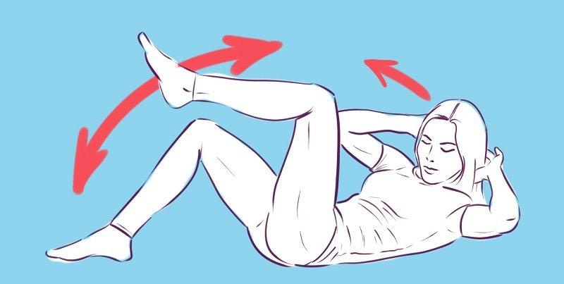 пять упражнений для лечения панкреатита и холецистита