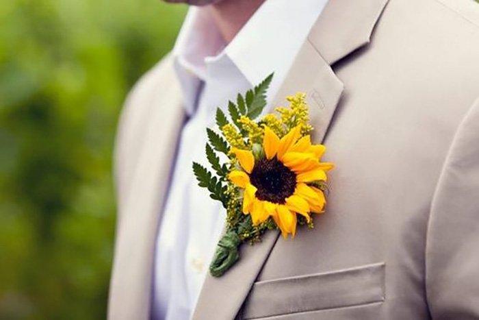 декор из сухих цветов
