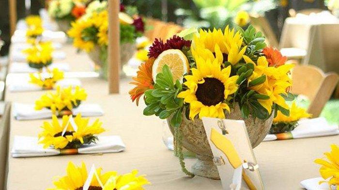 декор из сетки для цветов