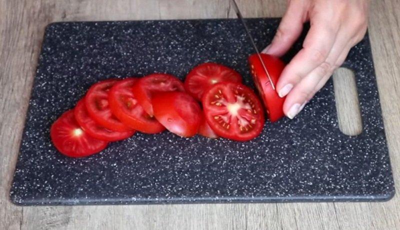 kotlety z pomidorami w piekarniku