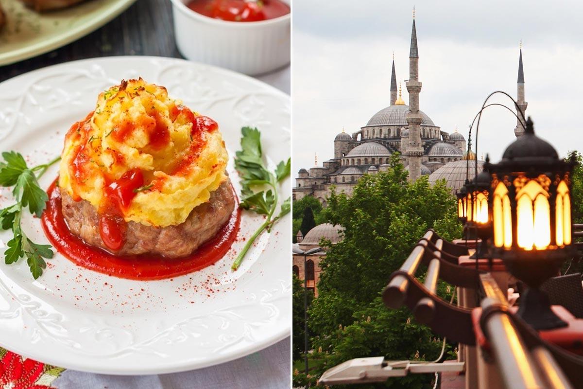 Почему я больше не жарю котлеты, а лишь запекаю с сыром по-турецки Кулинария,Советы,Котлеты,Масло,Пюре,Соус,Сыр,Фарш