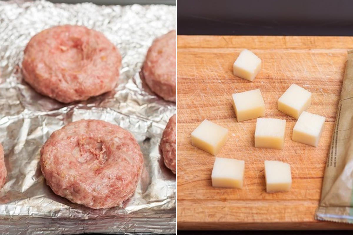 котлеты в духовке с сыром