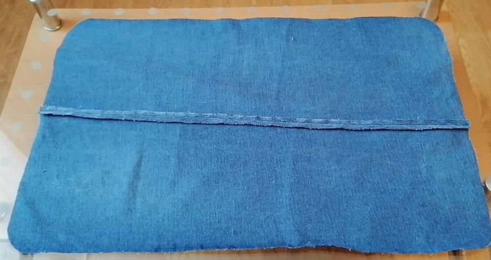 коврик из джинсов мастер класс