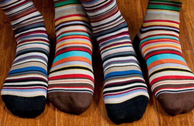Как сделать коврик из носков