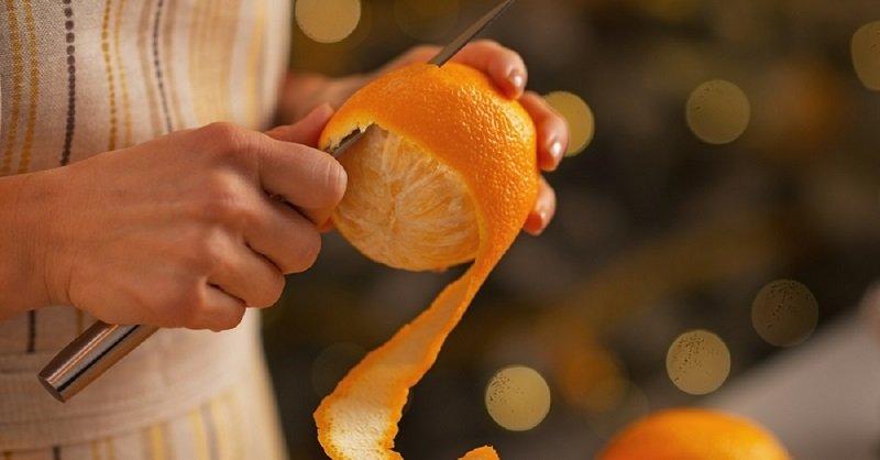 кожура апельсина польза и вред