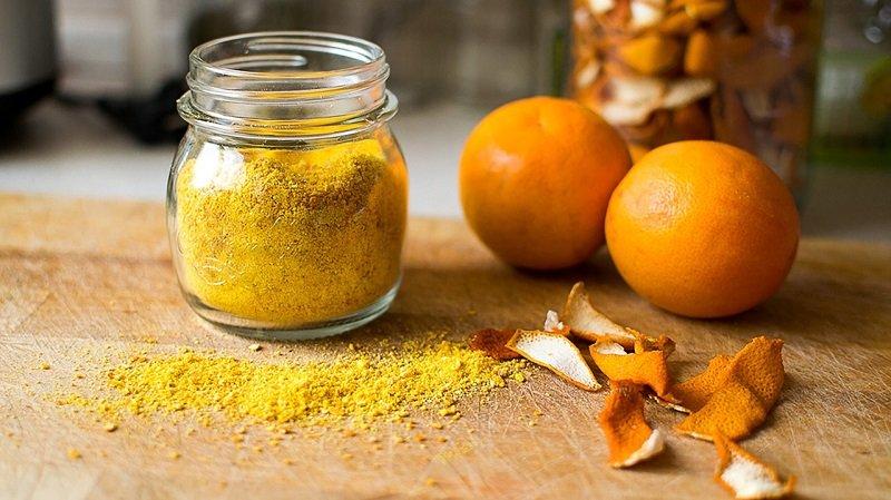 кожура апельсина для запаха