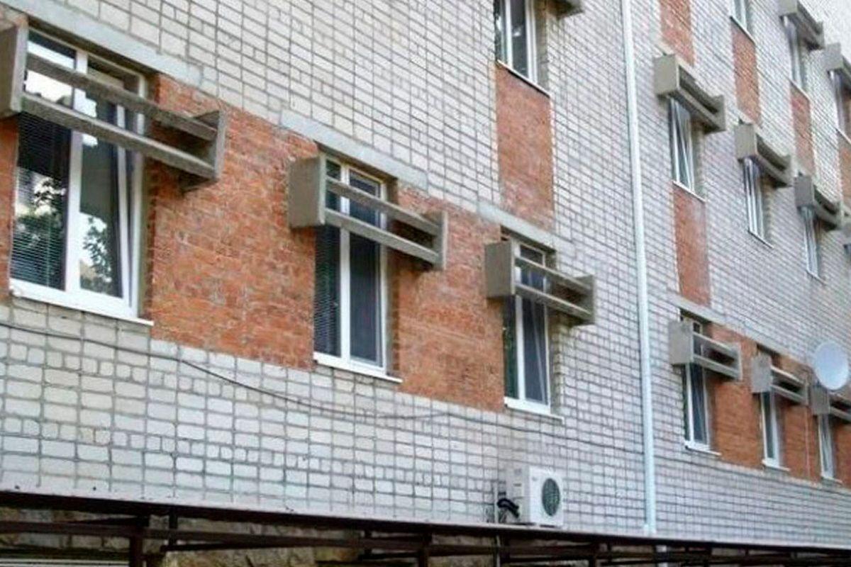 Для чего на советские окна навешивали бетонные козырьки