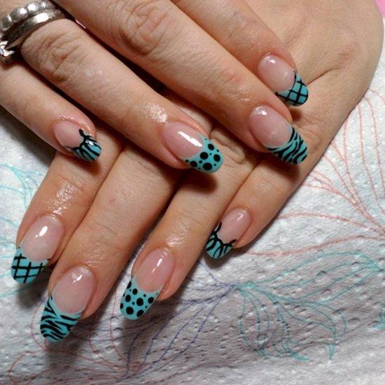 форма ногтей в домашних условиях