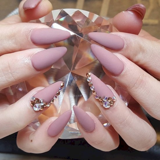 виды форм гелевых ногтей