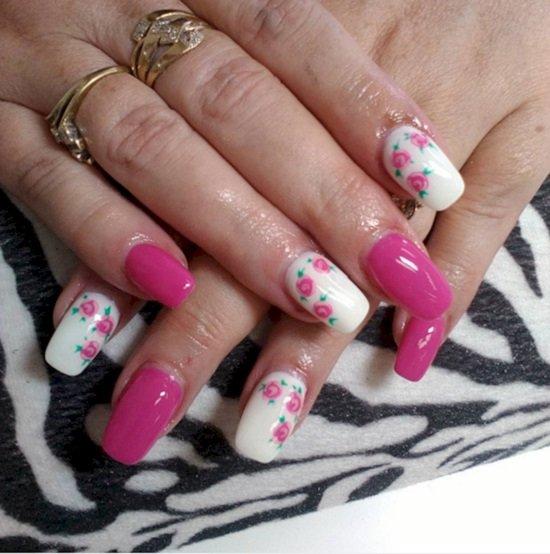 виды и формы ногтей