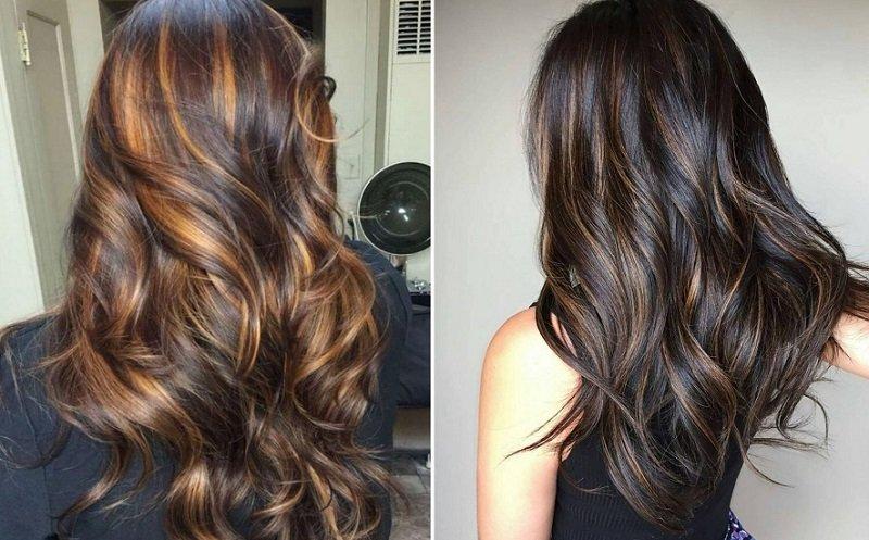 модное окрашивание волос 2018 фото