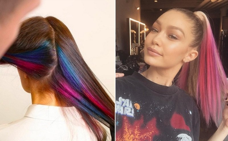 красивое и модное окрашивание волос