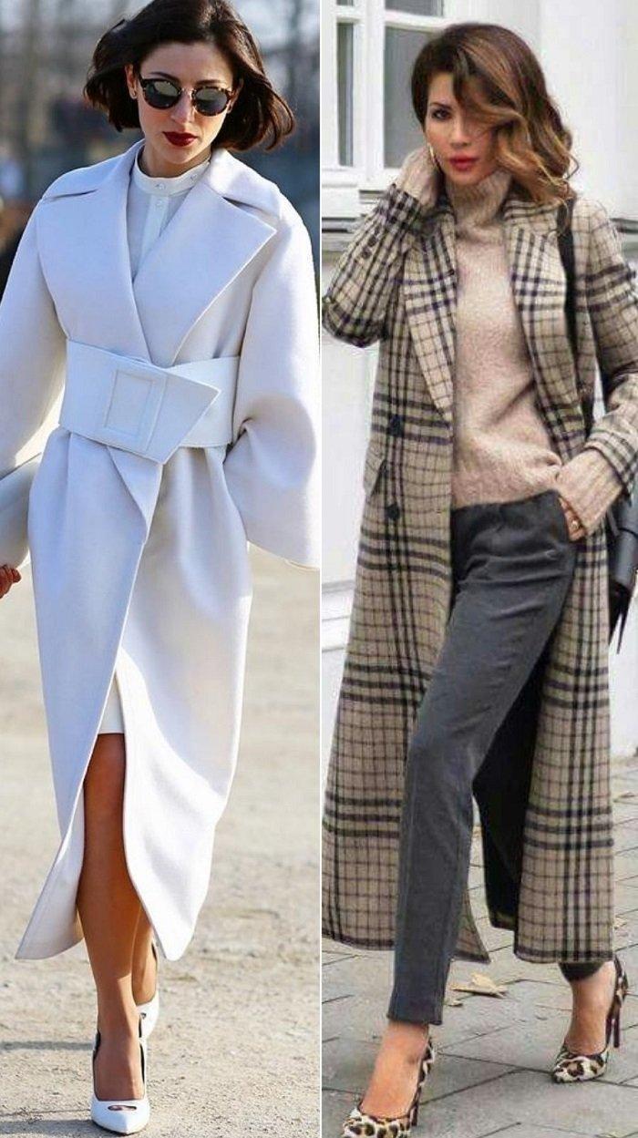 женское пальто из верблюжьей шерсти