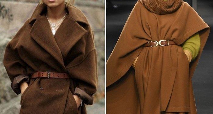 женское пальто из шерсти альпака