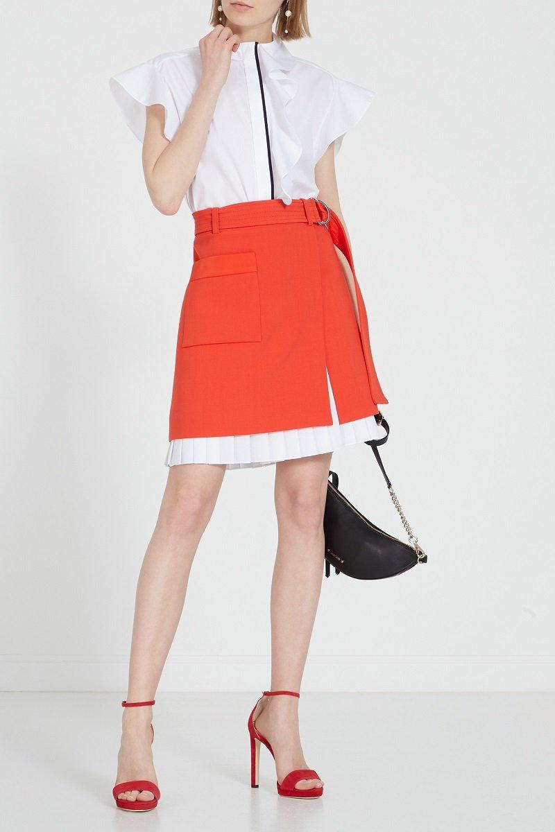 с чем носить юбку