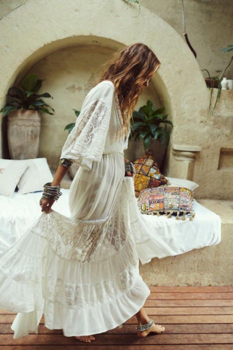 красивые белые свадебные платья