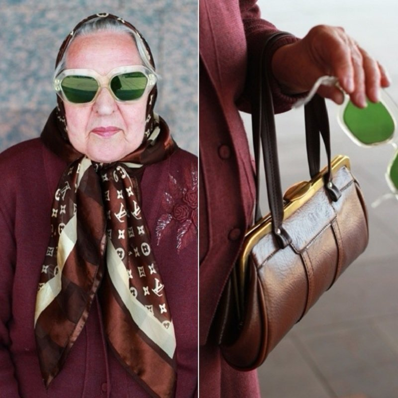 красивые бабушки