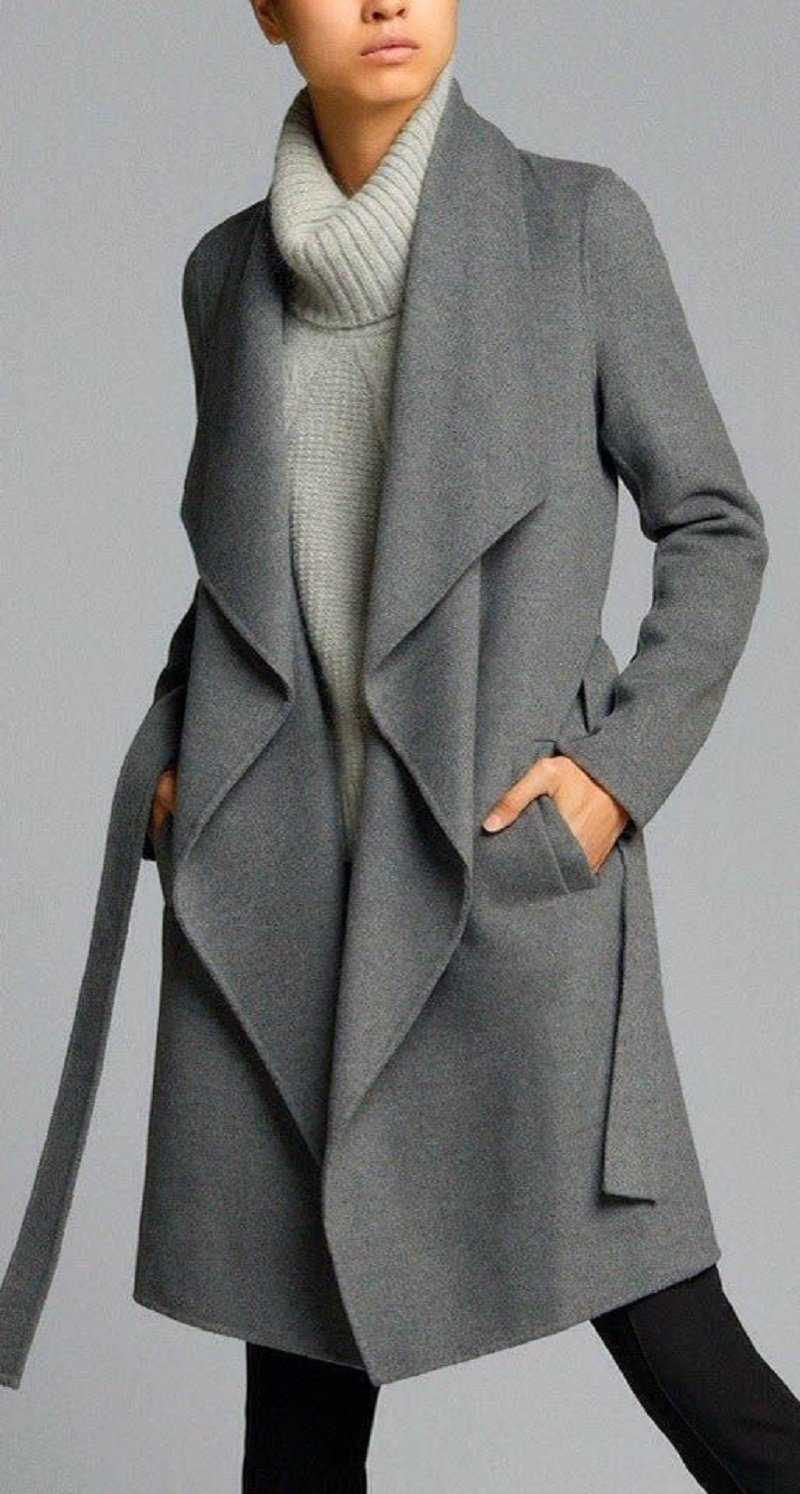 Легкое пальто без подкладки