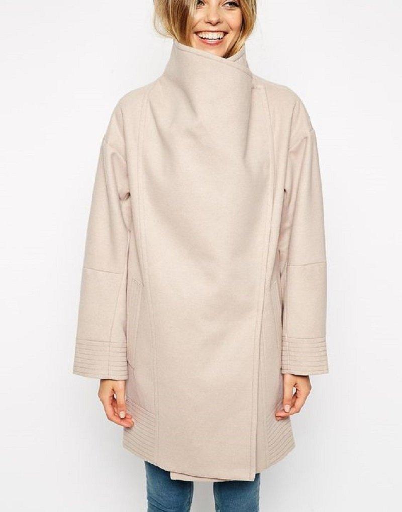 необычные женские пальто